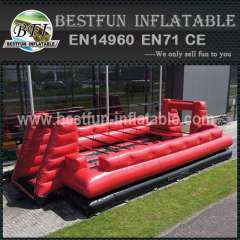 Pvc inflatable soccer area