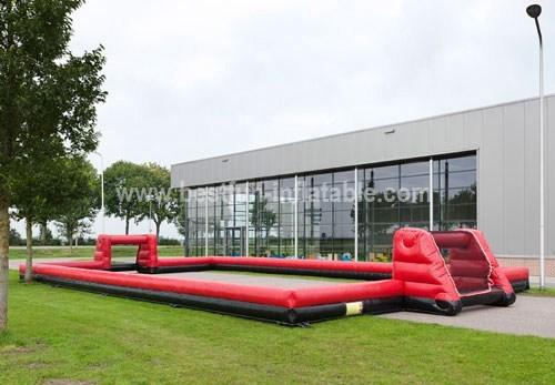 Golf Beach Inflatable Football (Black n Red)