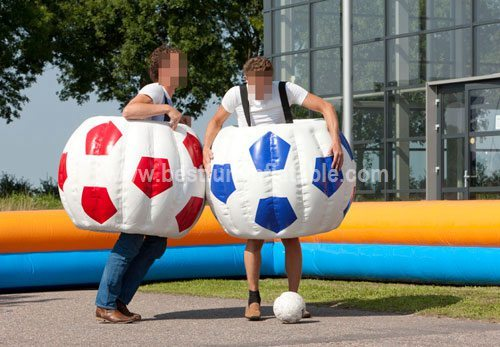 Inflatable costume Football game