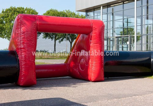 Inflatable football field quadro