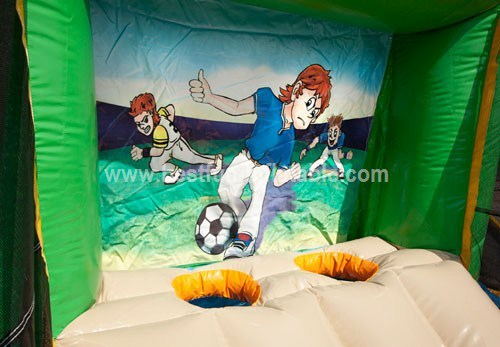 Inflatable Football Golf multijeux