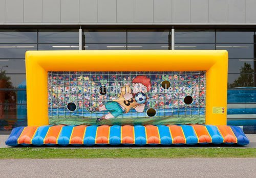 Inflatable game penalty (penalty kick)