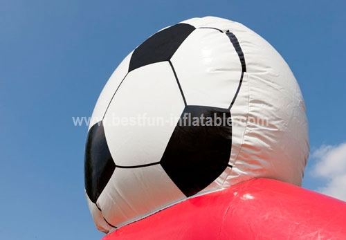 Inflatable Goal Shooting speed (with radar)