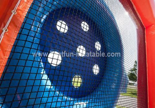 Inflatable shooting game goalie