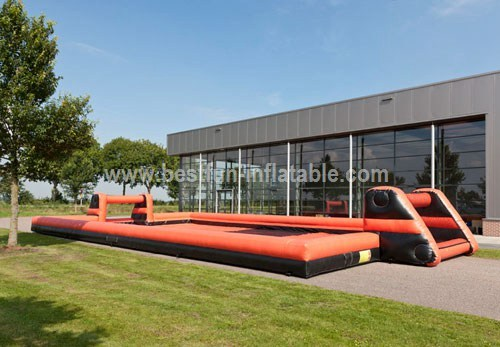 Inflatable structure Soap Soccer
