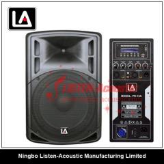 Full Range 15 Inch Active Plastic Cabinet Speaker