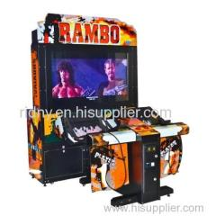 Rambo Shooting Game Arcade Machine Amusement Park Equipment
