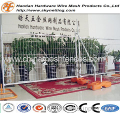 Retractable temporary fence temporary welded wire mesh fence panels welded removable temporary fence
