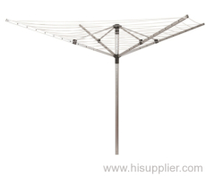 outdoor aluminum clothes rotary airer