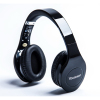 Bluetooth Stereo HI-FI Smartphones Headsets On Ear Headphones Black