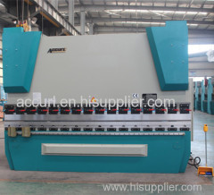 Hydraulic conmputer control steel sheet bending machine
