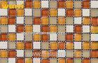 Low Water Absortion Modern Ceramic Glass And Marble Mosaic Tile For Deco