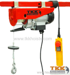 GS standard Single Phase Electric Hoist With Upper and Lower Limit Switch 300KG