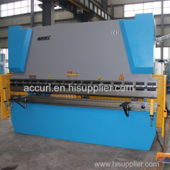 New design E21 NC hydraulic steel plate bending machine
