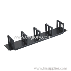 2u Metal Wire Network Cable Manager