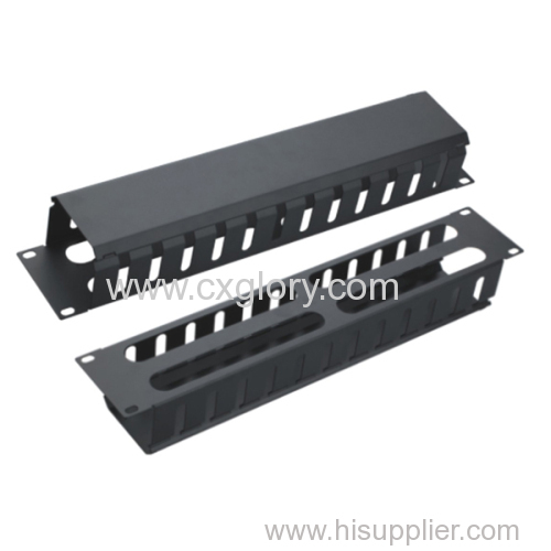 19 Inch 2u Cable Manager