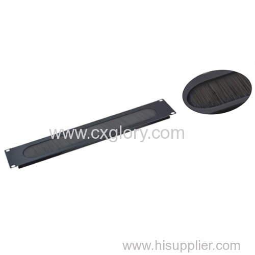 """1u 19"""" Brush Panel for Cable Manager good quality"""