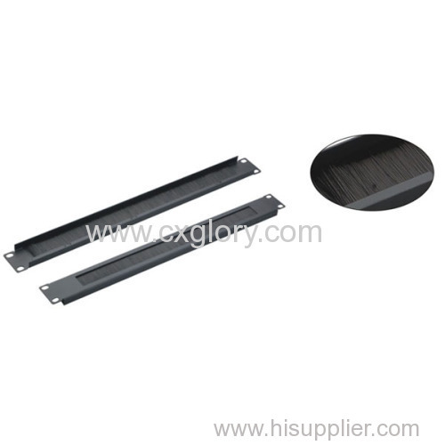 """1u 19"""" Brush Panel for Cable Manager"""
