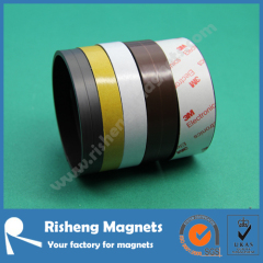 Flexible magnetic tape Magnetic strip Premium self adhesive flexible rubber magnet