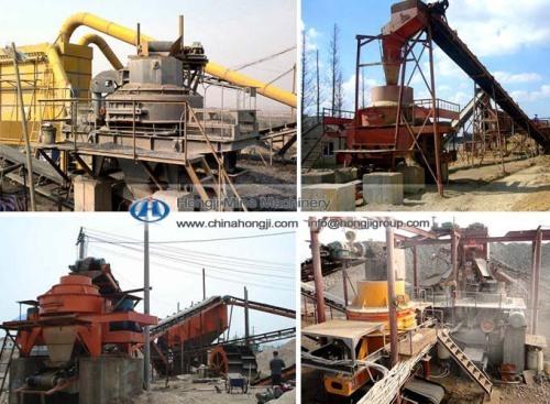 China suppliers Sand Making& Washing Plants