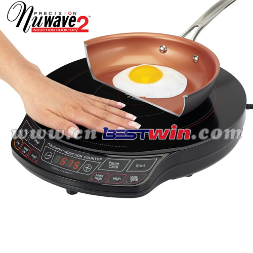 Magnetic Induction Stove ~ Nuwave magnetic precision electric stove induction cooktop