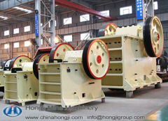 China Large Capacity Jaw Crusher