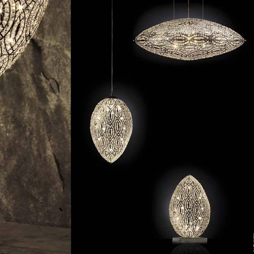New classical post modern Nordic Art Deco crystal ceiling chandeliers