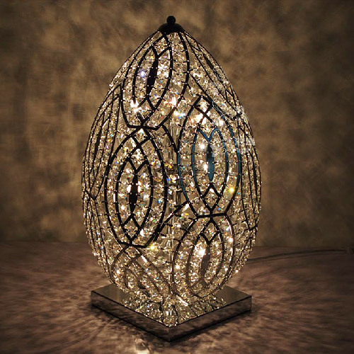 Top quality contemporary crystal decorative table lamps