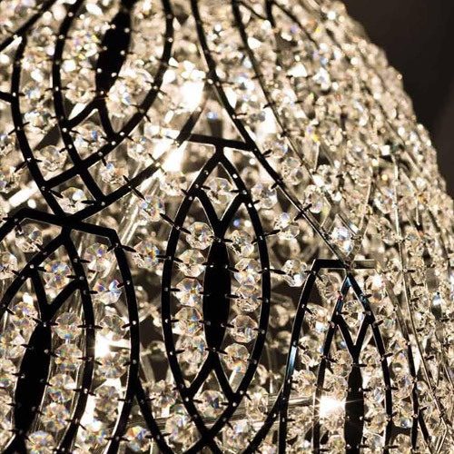 Post modern luxury decoration K9 crystal decorative wall lamp for sale