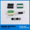 Magnetic named badge holder