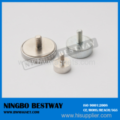 NdFeB Pot Magnet with Countersunk Mounting