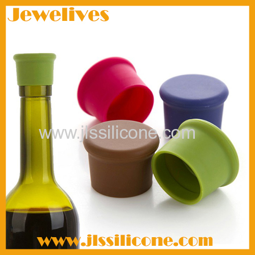 Silicone wine bottle stopper hot recently