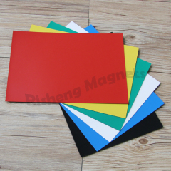 Useful Flexible Magnetic Sheet 0.5mm x 210mm x 297mm With High Quality PVC Vinyl Cuttable for Any Shape