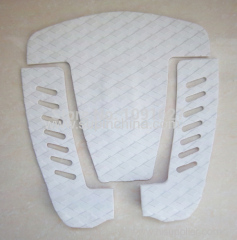Longboard deck pad surfboard grip pad tail pad with 3M adhesive