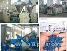Polystyrene / Polypropylene Plastic Recycle Machine For Double Stages Screw