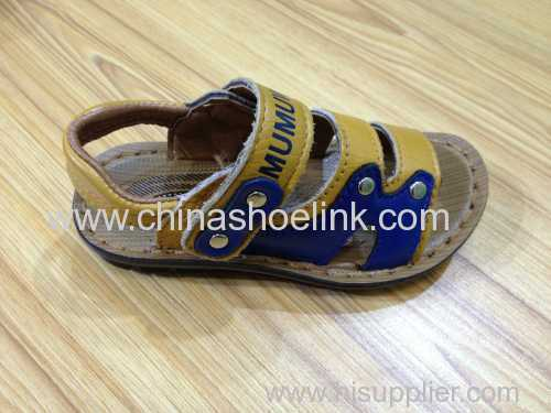 Child leather sport sandals