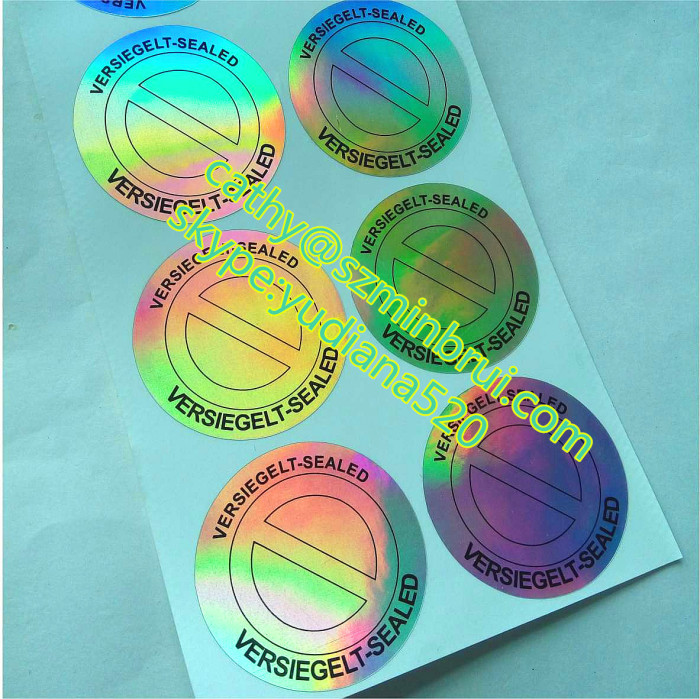 Hot sale custom make your own hologram sticker from China