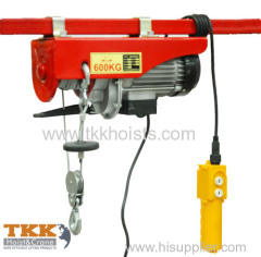 Electric wire rope hoist factory