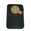 Waterproof Shower Speaker & Auto FM Radio wireless Bluetooth speaker Black