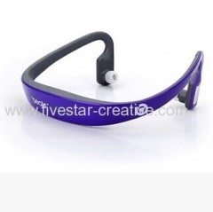 Purple Monster Beats by Dr.Dre Wireless Bluetooth Sport Stereo Headset with Volume Control HD-505