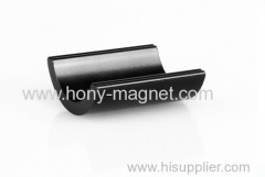 Bonded neodymium rare earth magnet materials