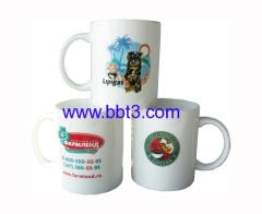 Top selling ceramic coffee mug with decal printing