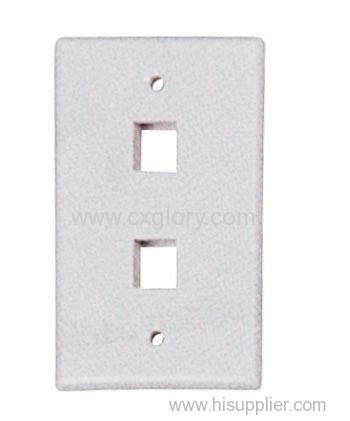 2 Port 120 Type Long Face Plate Gl 1217b Manufacturer From