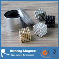 N35 Neodymium Super Neocube Magnet Sintered NdFeB Magnetic Balls