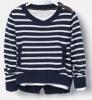kids v-neck stripe pullover