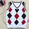 kids v-neck vest pullover