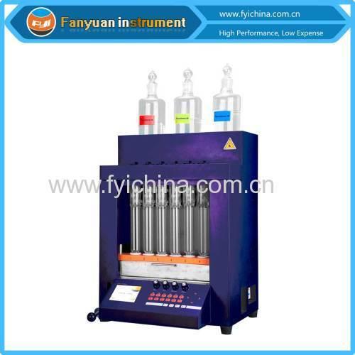 BS 4407-1988 Fiber Blend analyzer instrument