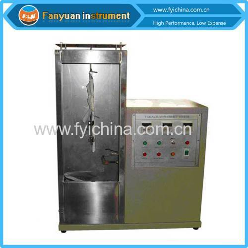 Fabric Vertical Flammability Tester