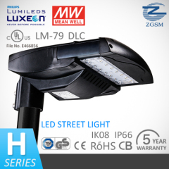 Manufacturer of UL/DLC listed LED street light with 5 years warranty