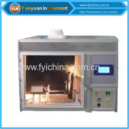 ISO 15025 Protective ClothingVertical Flammability Tester
